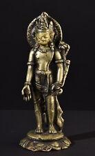Bodhisattva Padmapani. Alte Bronze Figur. Old statue (Tibet Buddha Tibetan)