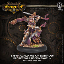 Warmachine Protectorate of Menoth Thyra, Flame of Sorrow Warcaster PIP 32086 NEW