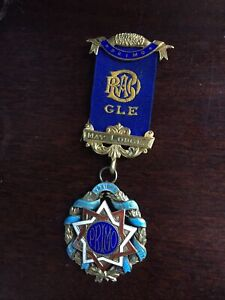 Silver Masonic Medal Hallmarked London