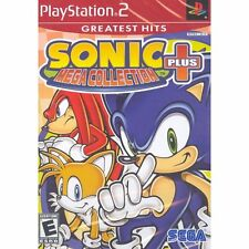 Sonic Mega Collection Plus Greatest Hits (Sony PlayStation 2, 2004)
