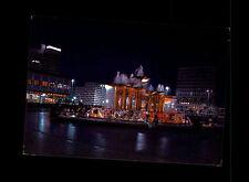 BERLIN Ost Hauptstadt DDR AK Alexanderplatz Alex bei Nacht-Beleuchtung 1974 col.