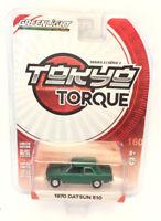 GREENLIGHT CHASE TOKYO TORQUE SERIES 2 1970 DATSUN 510 1/64 DIECAST CAR 29900-B