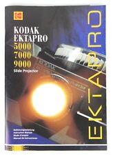 KODAK EKTAPRO MANUALE D'USO - 5000/700/9000 - SPAGNOLO/FRANCESE/INGLESE/TEDESCO