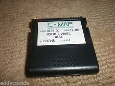 C-MAP ELECTRONIC CHART - NORTH CHANNEL WEST - CODE H125.00 - CLASS L - #206348