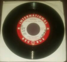 Bud Herrmann promo 45 Ghost of a Chance / Golden Earrings International Records