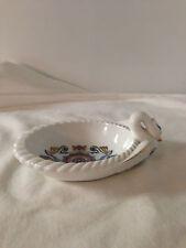 Vintage RARE Elizabeth Arden Porcelain Swan Trinket Dish ORIENT EXPRESS Japan