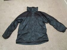 Mens Mont Bell Montbell Gore-Tex Windbreaker Rain Jacket With Hood Green Medium