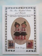 MISS ROSEBUD DOLL KNITTING BOOK