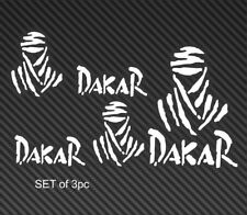 paris dakar decal, dakar logo, custom color available.