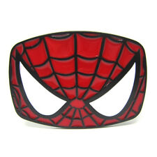 Superhero Spider Man Face Mens Belt Buckle