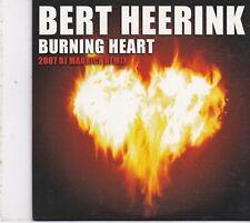 Bert Heerink-Burning Heart cd single