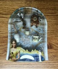 Brand New Disney Beauty and the Beast Castle Friends Collection Hasbro Figurines