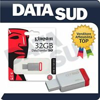 PEN DRIVE KINGSTON DataTraveler 50 DT50 CHIAVETTA USB 3.0 32 GB