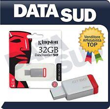 PEN DRIVE KINGSTON DataTraveler 50 DT50 CHIAVETTA USB 3.0 32 GB