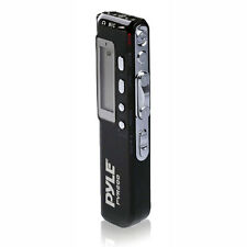 Pyle PVR200 4GB Digital LCD Voice Recorder Headphone Jack and Built-in Speaker