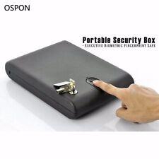 Cassaforte portatile con sensore biometrico e chiave di sicurezza