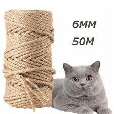 Natural Rope Jute Twine Roll Hemp Wrap Gift Craft Cord Hemp Handmade String DIY