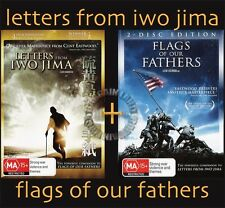 LETTERS FROM IWO JIMA / FLAGS OF OUR FATHERS : NEW 2-DVD