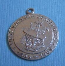 Vintage West Virginia Centennial  sterling charm