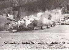 Schmalsspurbahn Wolkenstein-Jöhstadt Sammelbildserie
