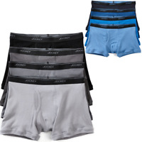 Jockey Staycool Mid-Rise Cotton Boxer Brief 4 Pack 008112