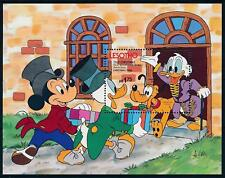 [62766] Lesotho 1983 Disney Christmas Sketch Book - Donald Duck Sheet MNH