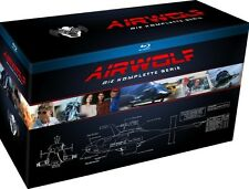 Airwolf - Die komplette Serie - 18 Blu Ray Box