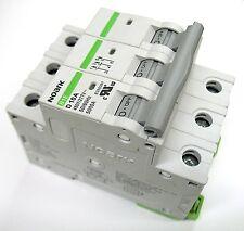 5 Amp Noark 3 Pole Din Rail MCB Circuit Breaker UL 230 240 480 Volt Class D