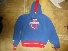 Vtg The Game New York Giants Hoodie Sweatshirt Pullover Xl Men Sport Nfl 90s Usa