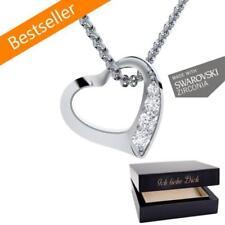 Liebe & Herzen Synthetisch hergestellte-Modeschmuck-Halsketten & -Anhänger