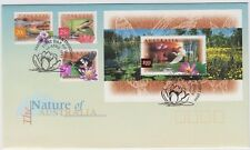 Stamps 1997 Nature of Australia inc $10 & $1 official post office FDC Jabiru