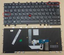 Tastatur IBM Lenovo ThinkPad Yoga S1 S240 LED Backlight Beleuchtet DE