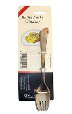 Windsor by Grunwerg Buffet Forks Stainless Steel 4pk