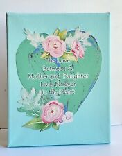"""Mixed Media Art, Collage Art, Mother's Day Gift Or Birthday Gift, 8x10"""" Canvas."""
