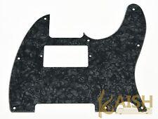 Tele Telecaster Style Guitar Humbucker Pickguard Scratch Plate Black Pearl
