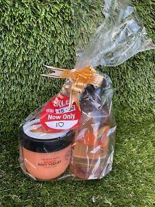 The Body Shop Mango 250ml Shower Gel Body Scrub And Body Yogurt