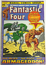 FANTASTIC FOUR#116 FN/V 1971 MARVEL BRONZE AGE COMICS