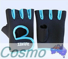 UNISEX SPORT GYM MEN Cycling Gloves Bike Half Finger Bicycle Gel Silicone COOL