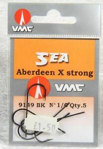 VWC Sea Aberdeen X strong 9149 BK no 1 qty 5  fishing sports brand new lot 1