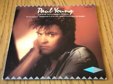 """PAUL YOUNG - LOVE OF THE COMMON PEOPLE  7"""" VINYL DOUBLE PACK GATEFOLD PS"""