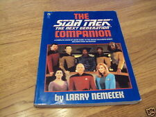 The Star Trek, The Next Generation Companion-ExLibrary
