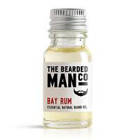 Bay Rum The Bearded Man Co Beard Oil Conditioner Male Boyfriend Dad Gift 10ml