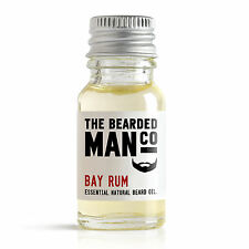 Bay Rum The Bearded Man Co Beard Oil Conditioner Male Boyfriend Dad Gift 10ml