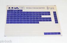 Microfich Ersatzteilkatalog Kawasaki VN - 1500 Drifter Modell 1999 Stand 03/2001