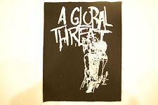A Global Threat Back Patch (BP92) Crust Punk Aus Rotten Doom Infest Dirt