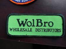 Embroidered Uniform Patch WolBro Wholesale Distributors