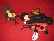 Anne Geddes Doll Lot b: Butterfly/ ladybug/ etc.