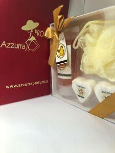 Accentra Bath Gift Set (Gel Doccia 80ml + Saponette 2x20gr + Spugna)