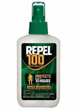 Repel 100 Insect Mosquito ZIKA Repellent: 98% DEET, 4oz Pump Spray