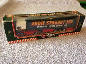 Corgi TY87010 Eddie Stobart DAF 95 Cab & Curtainside Trailer - Scale 1:64 Boxed
